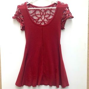 Free People Lacy Skater Dress Size Small